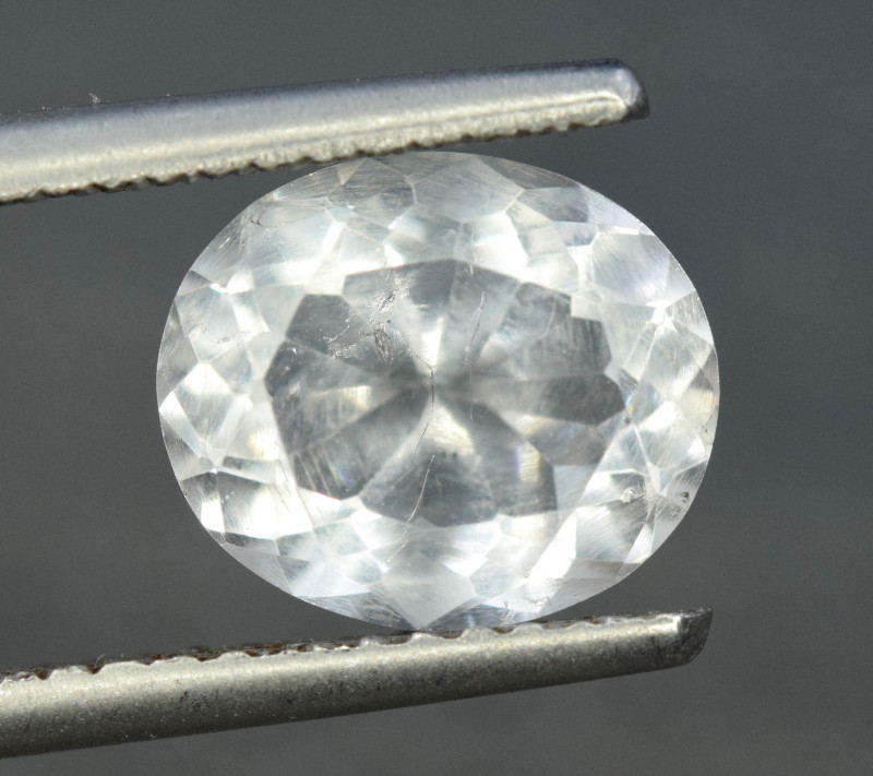 3.55 Top Quality Natural Pollucite Rare Gemstone