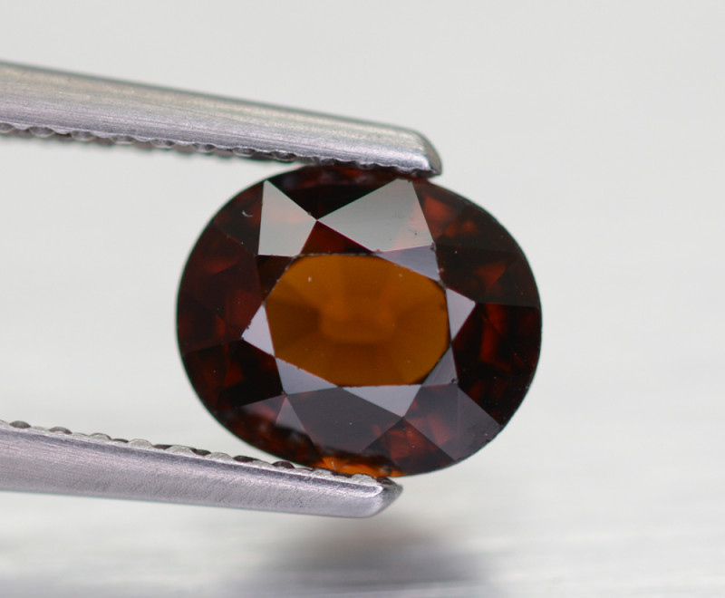 1.55 CT 7x6 MM Malaya Garnet Gemstone