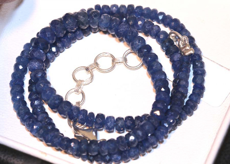 74 CTS -SAPPHIRE BEADS STRAND  PG-2610
