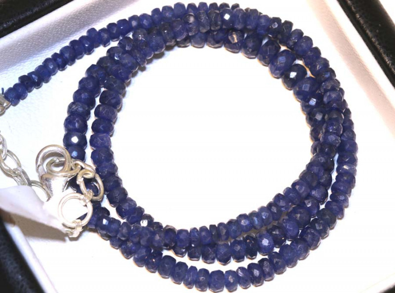 74.10 CTS -SAPPHIRE BEADS STRAND  PG-2611