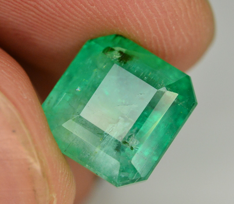 Top Quality 6.90 Ct Natural Afghanistan  Emerald