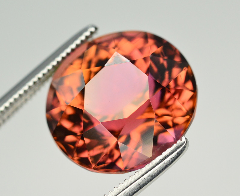 Incredible Color 7.95 Ct Bi Color Watermelon Tourmaline From Afghanistan