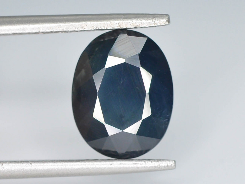 3.65 ct Natural Untreated Blue Color Sapphire AD