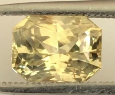 Certified Pretty 1.22ct Un Heated Ceylon Sapphire - H622