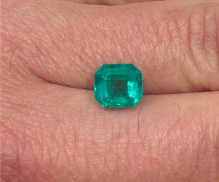 3,10ct Top Colombian Emerald  Colombian Emeralds Colombian Emeralds
