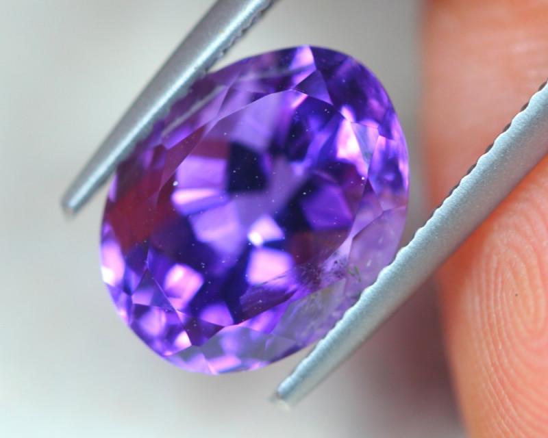 4.20Ct Natural Purple Amethyst Oval Cut Lot LZB527