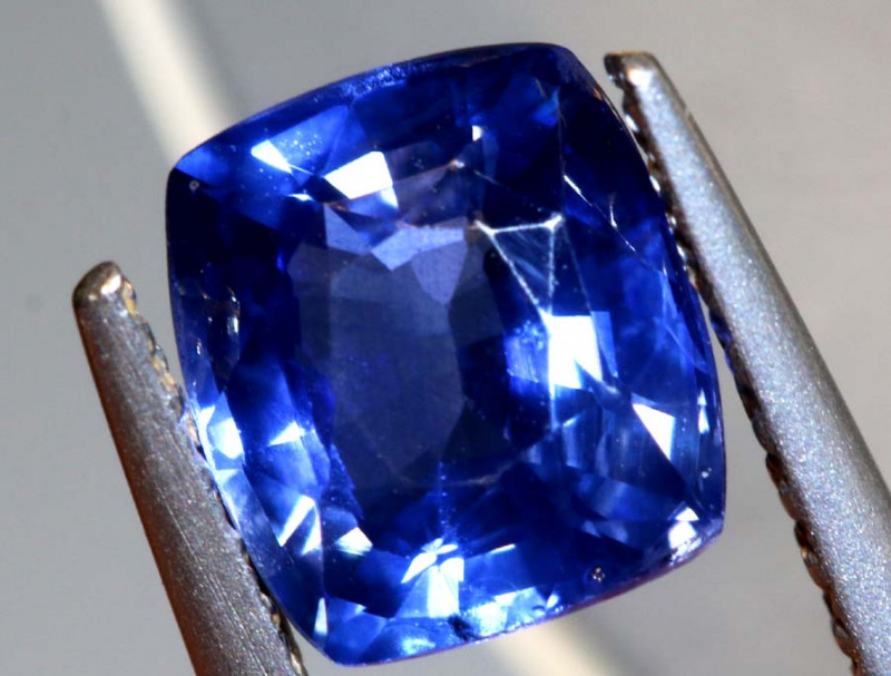 1.22CTS  CERTIFIED SAPPHIRE FACETED GEMSTONE TBM-1859