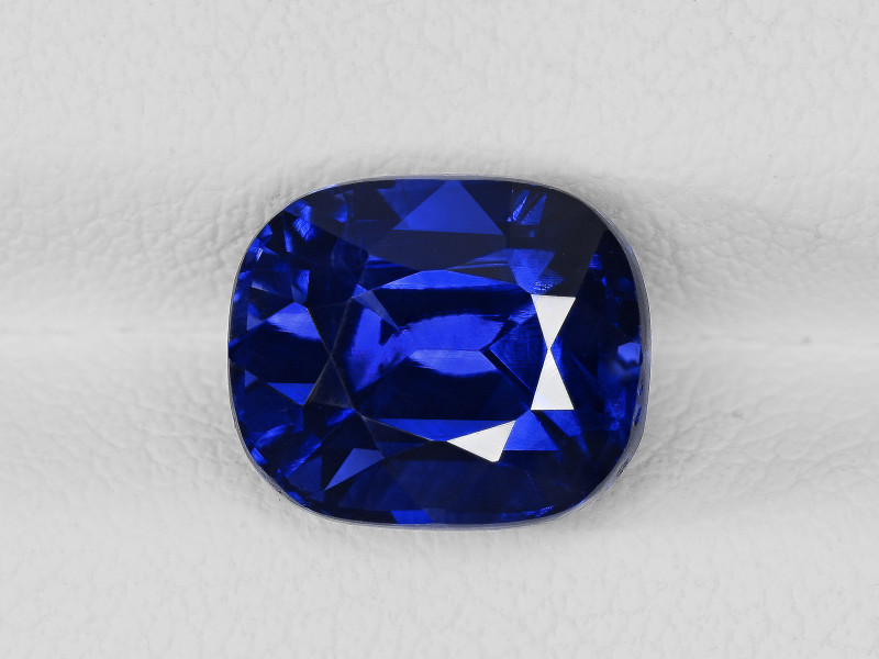 Blue Sapphire, 4.56ct - Mined in Madagascar | Certified by GRS