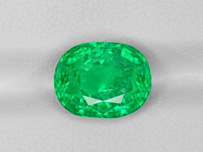 Emerald, 4.69ct - Mined in Afghanistan | Certified by GIA