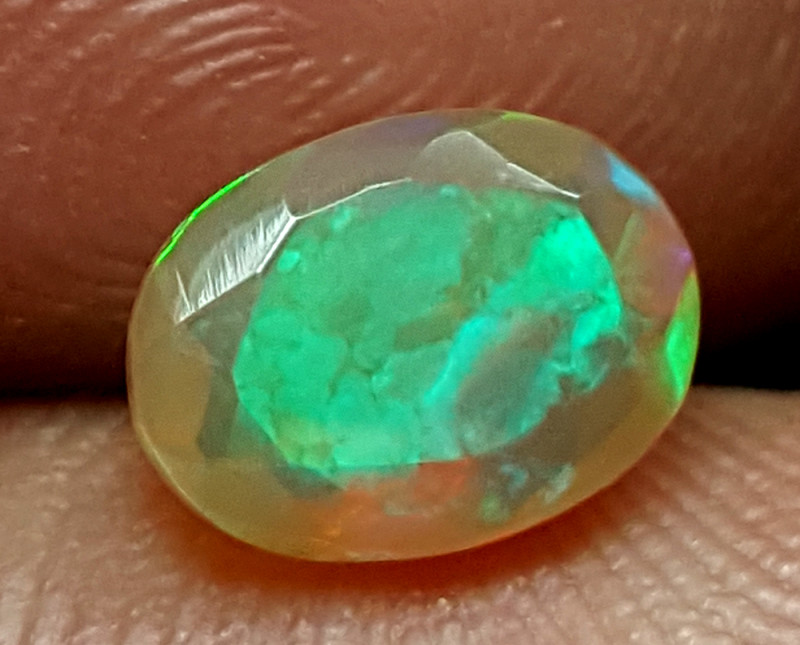 1CT FACETED OPAL  BEST QUALITY GEMSTONE IIGC28