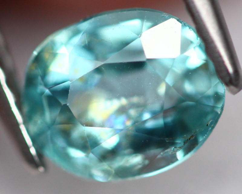 Apatite 1.37Ct Natural Neon Paraiba Color A123