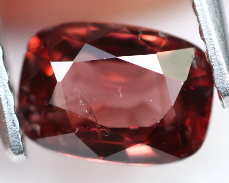 Brownish Red Spinel 0.97Ct Natural Burmese Mogok A127