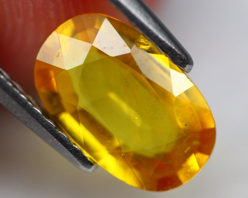 Sapphire 1.51Ct Natural Yellow Sapphire A1607