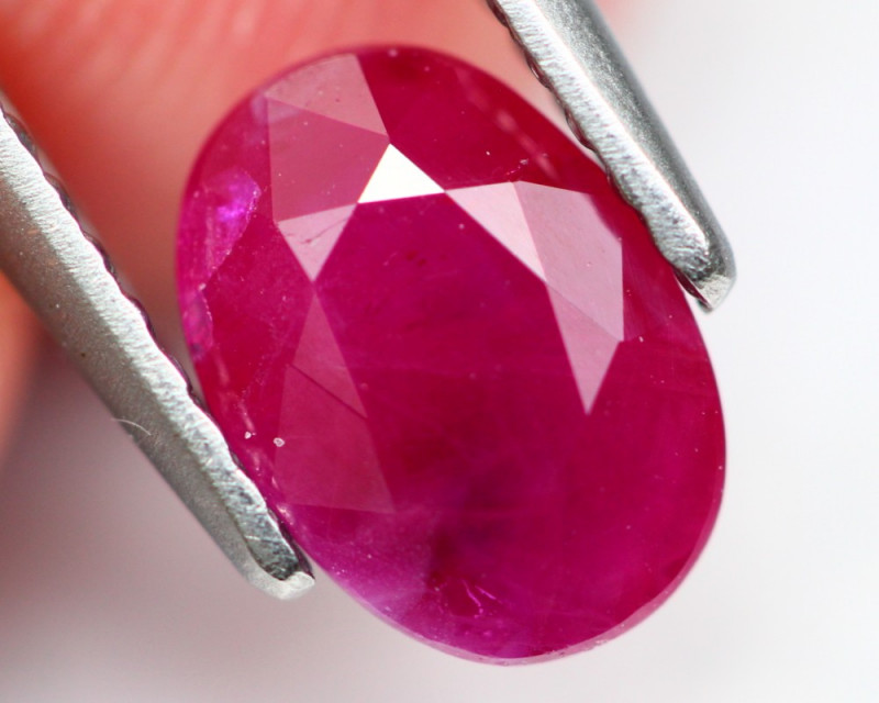 Ruby 1.22Ct Natural Burmese Red Ruby A1608
