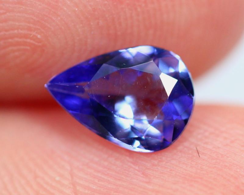 0.96cts TOP Colour Violet Blue D Block Tanzanite / RD87