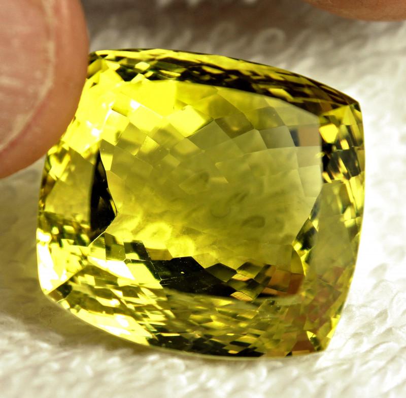 57.38 Carat Vibrant Yellow Lemon Quartz - Gorgeous