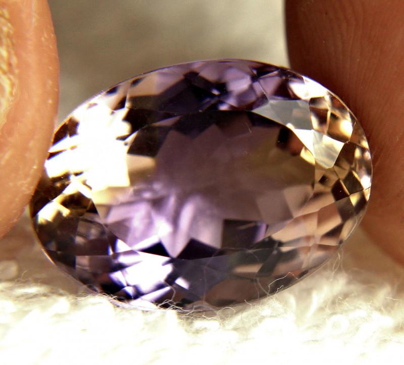 14.6 Carat Natural, Light Bolivian VVS Ametrine - Gorgeous