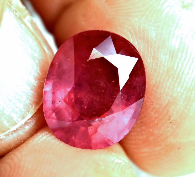 10.23 Carat Fiery Top Ruby - Gorgeous