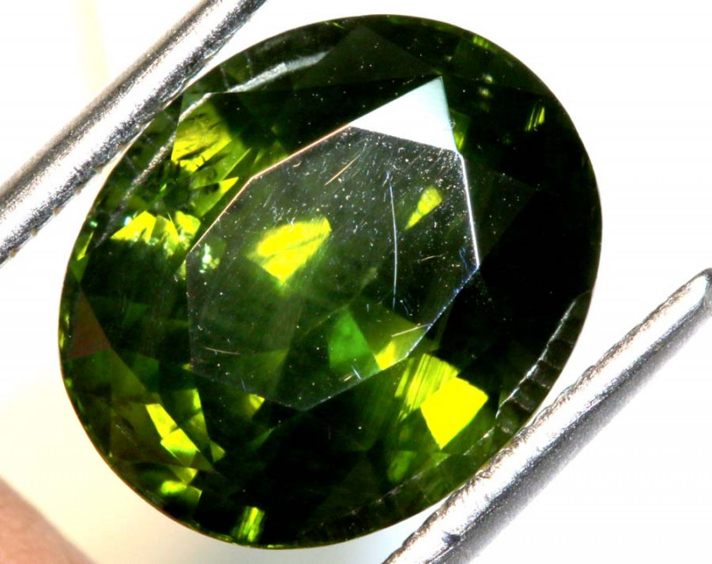 7.29 CTS-  CERTIFIED ZIRCON FACETED TBM-1872
