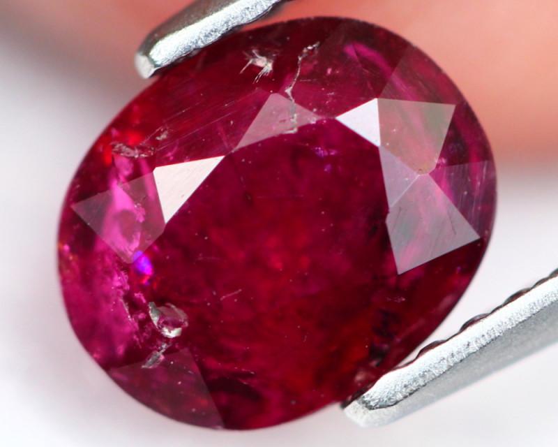 Rubellite 1.29Ct Natural Vivid Red Color A639