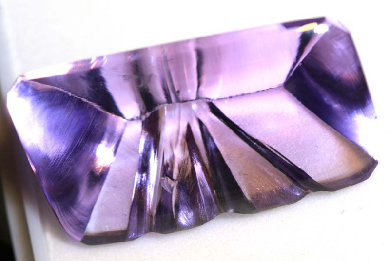 25.95CTS- AMETHYST  CARVING TBM-1575