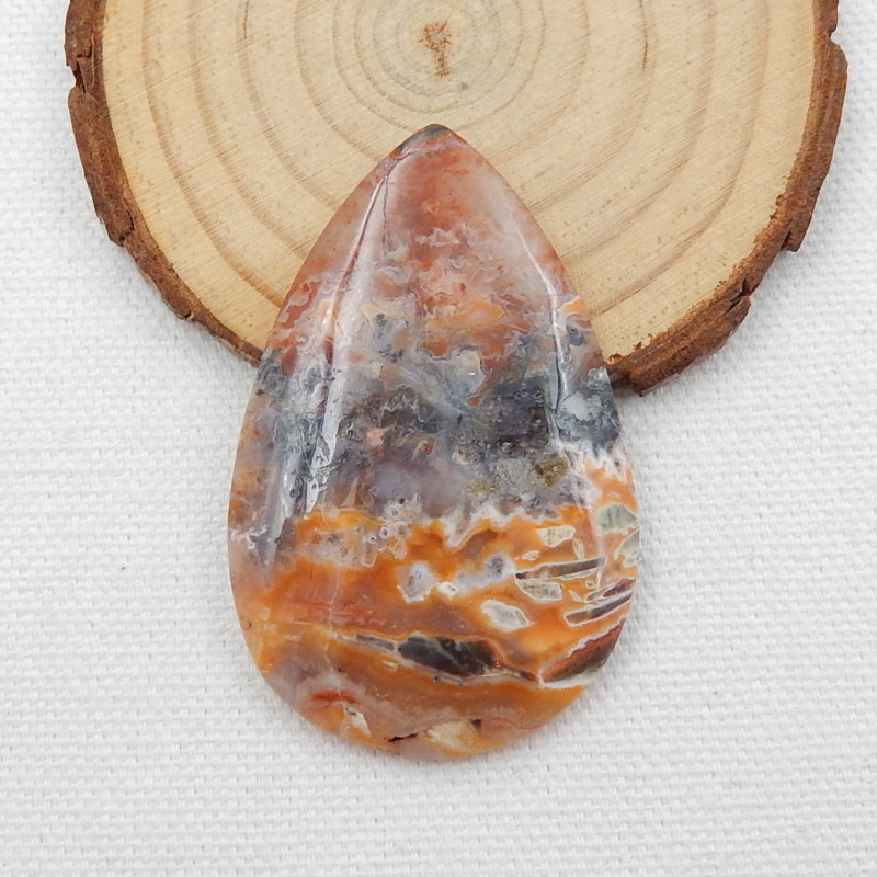 Sale 59Cts agate Gemstone Natural Agate Cabochon Oval lovely Agate D512