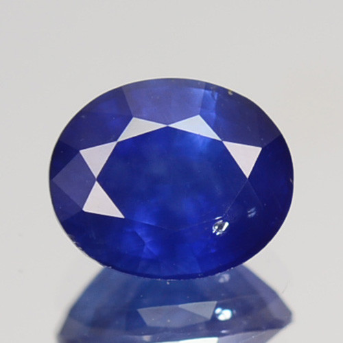 1.00 Cts Natural Corundum Sapphire Nice Blue Oval Cut SriLanka Gem (Video A