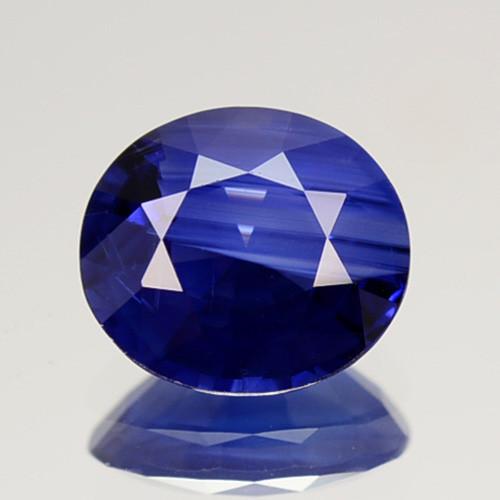 1.05 Cts Natural Corundum Sapphire Nice Blue Oval Cut SriLanka Gem (Video A