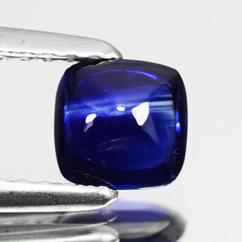 0.76 Cts Natural Royal Blue Sapphire Sugarloaf SriLanka Gem Video Avl