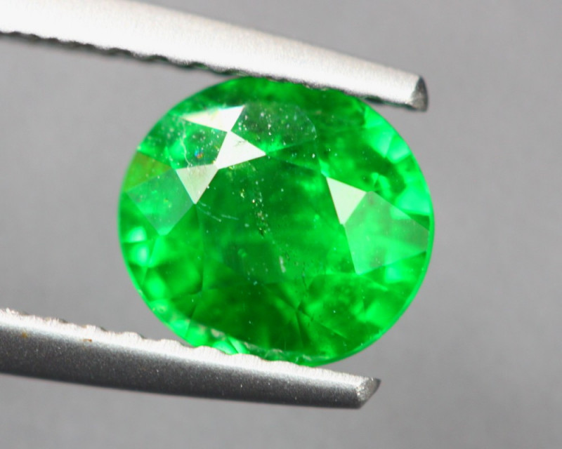 1.36Ct Natural Tsavorite Garnet Oval Cut Lot Z568