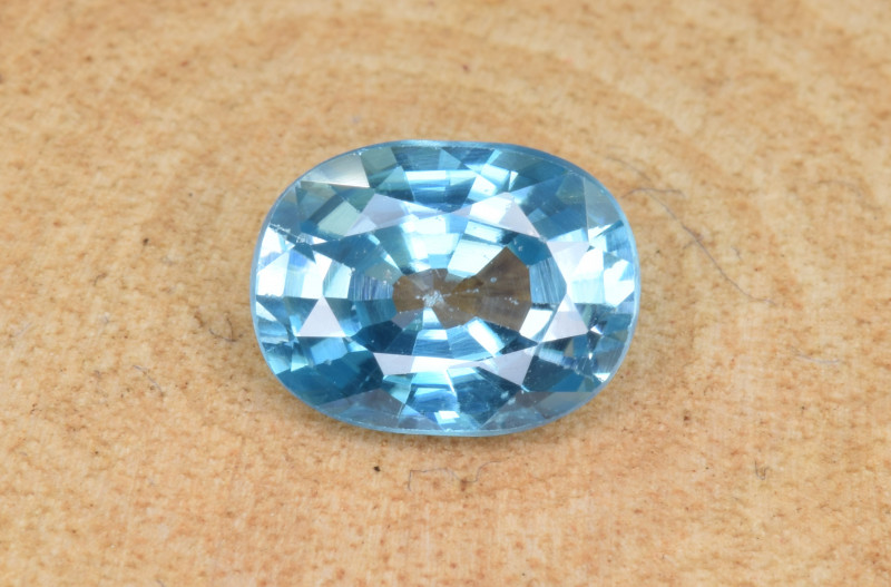 Natural Blue Zircon 2.20 Cts Top Luster Gemstone