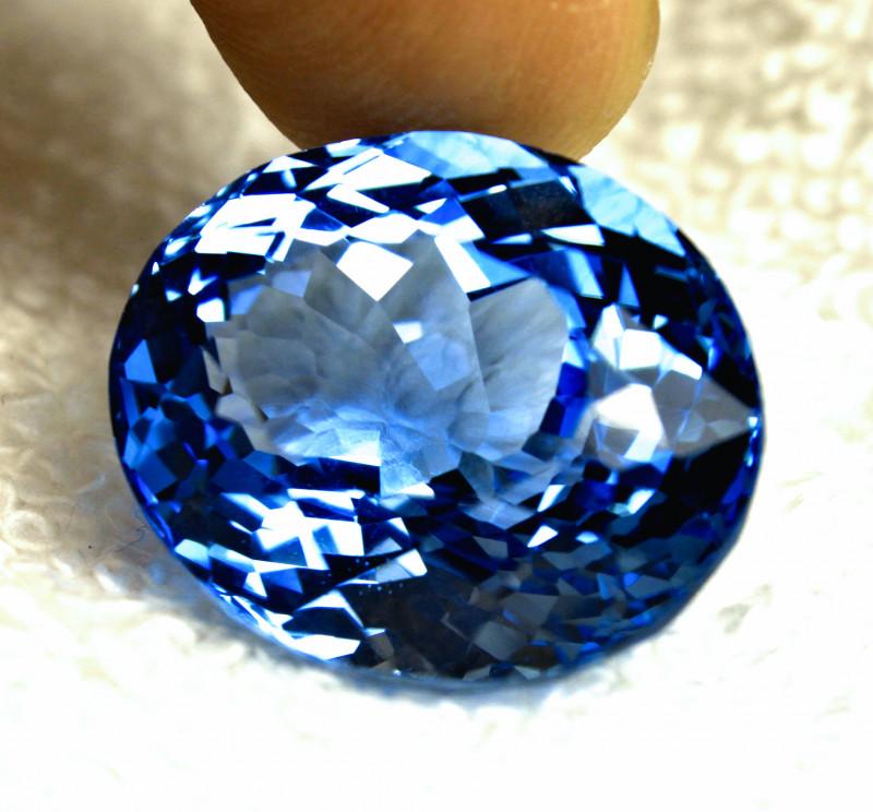 44.32 Carat Blue Brazil VVS Topaz - Gorgeous