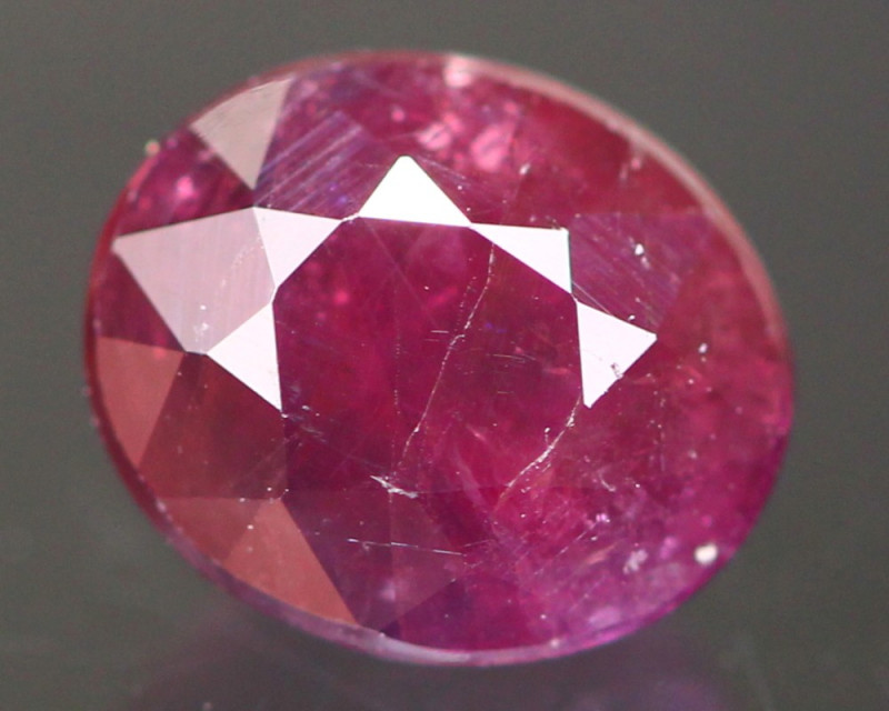Ruby 2.05Ct Natural Burmese Red Ruby A430