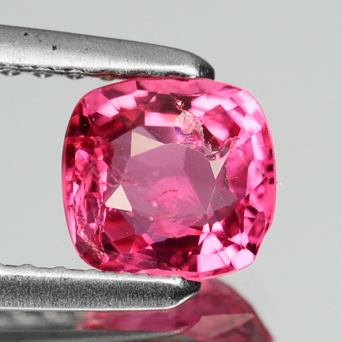 0.79 Cts Natural Burmese Hot Pink Spinel Cushion Cut ~UNTREATED~