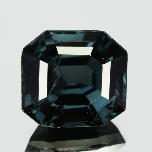 2.76 Cts Natural Green Spinel Octagon Cut Burmese