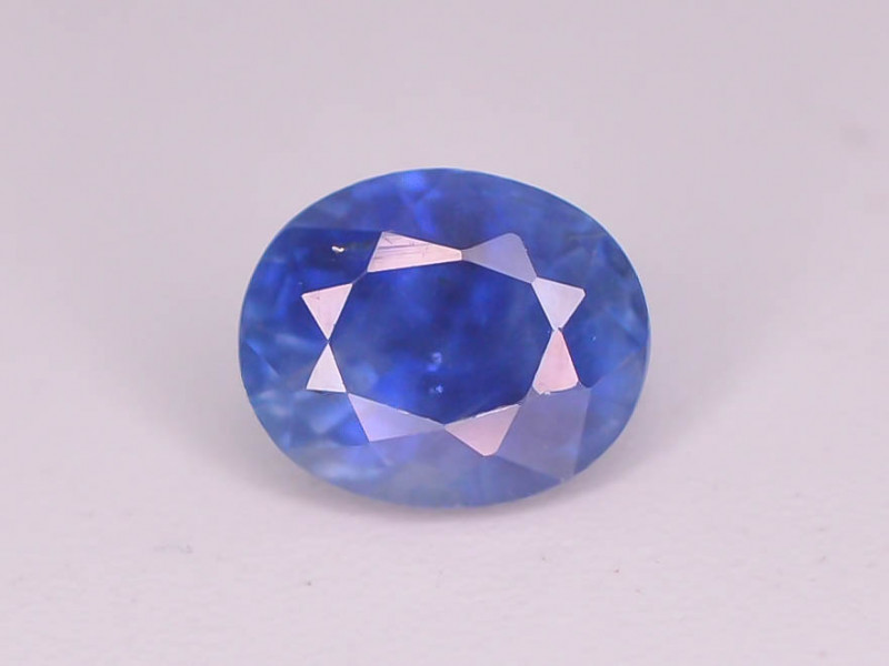 GIL ~ Certified ~0.98 Natural Untreated Blue Color Sapphire