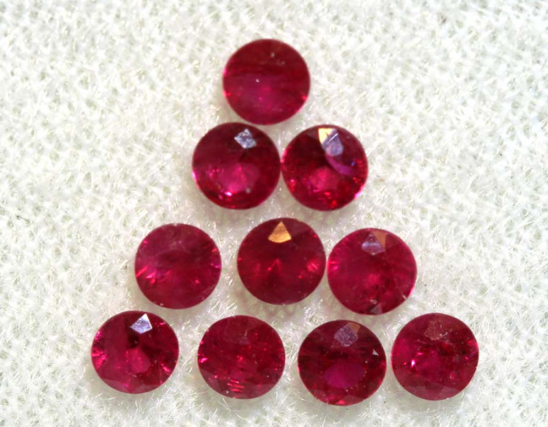 1.61 CTS NATURAL RUBY FACETED STONE PARCEL PG-2715