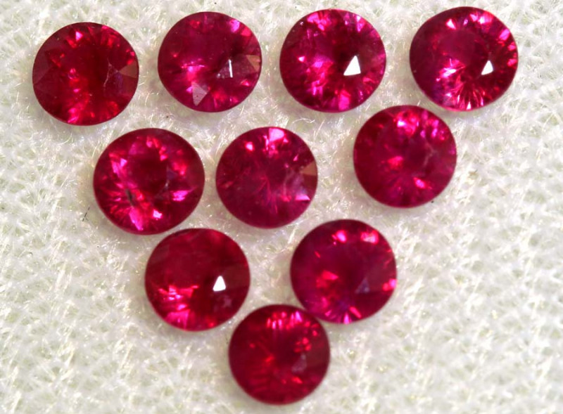 1.70 CTS NATURAL RUBY FACETED STONE PARCEL PG-2718