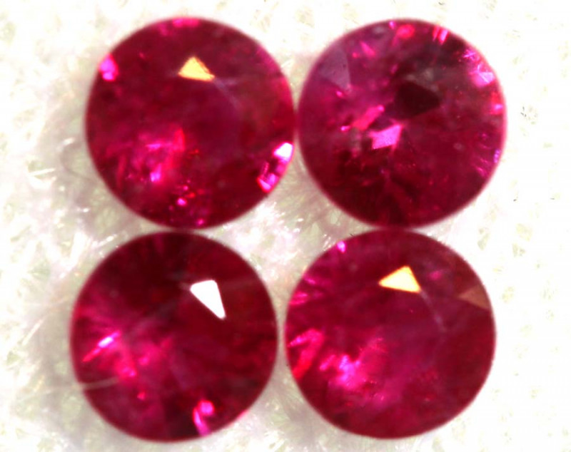 0.63 CTS NATURAL RUBY FACETED STONE PARCEL PG-2720