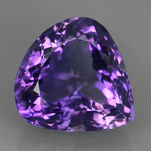 16.70 CTS SUPERIOR! TOP PURPLE-VIOLET-AMETHIYST PEAR GENUINE~GEM!!