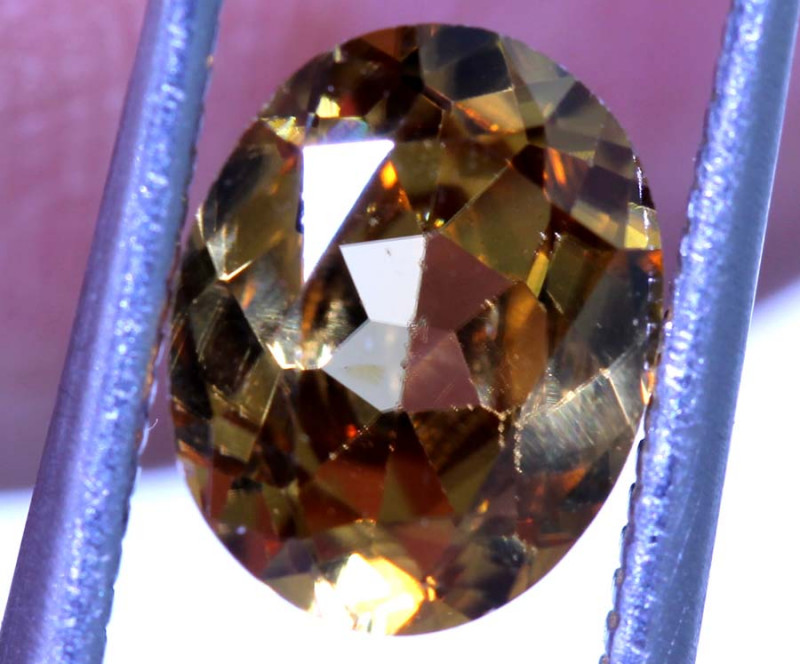 2.18 CTS NATURAL ZIRCON FACETED PG-2805
