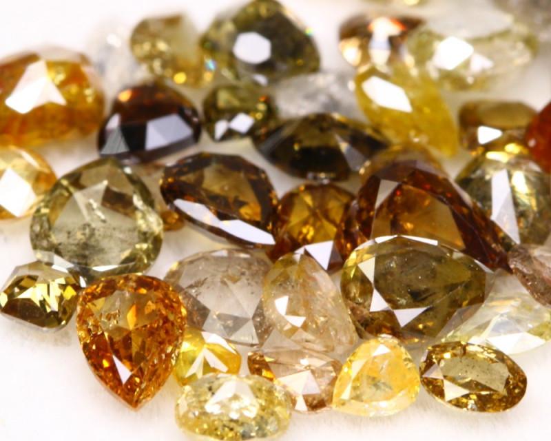 5.55Ct Fancy Color Cut Natural Diamond Lot BM106