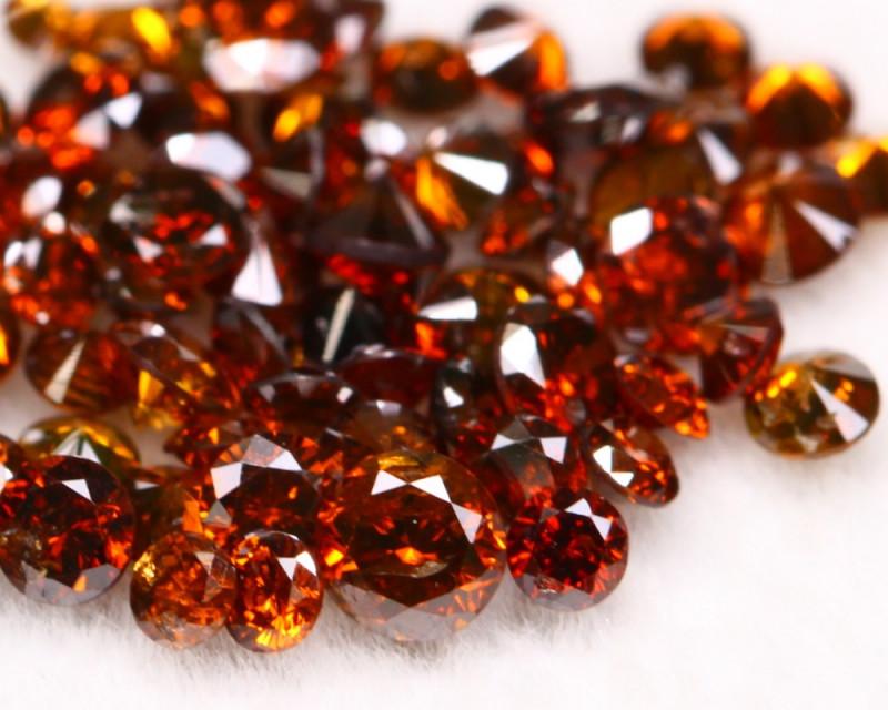 2.09Ct Red Natural Fancy Diamond Lot BM126