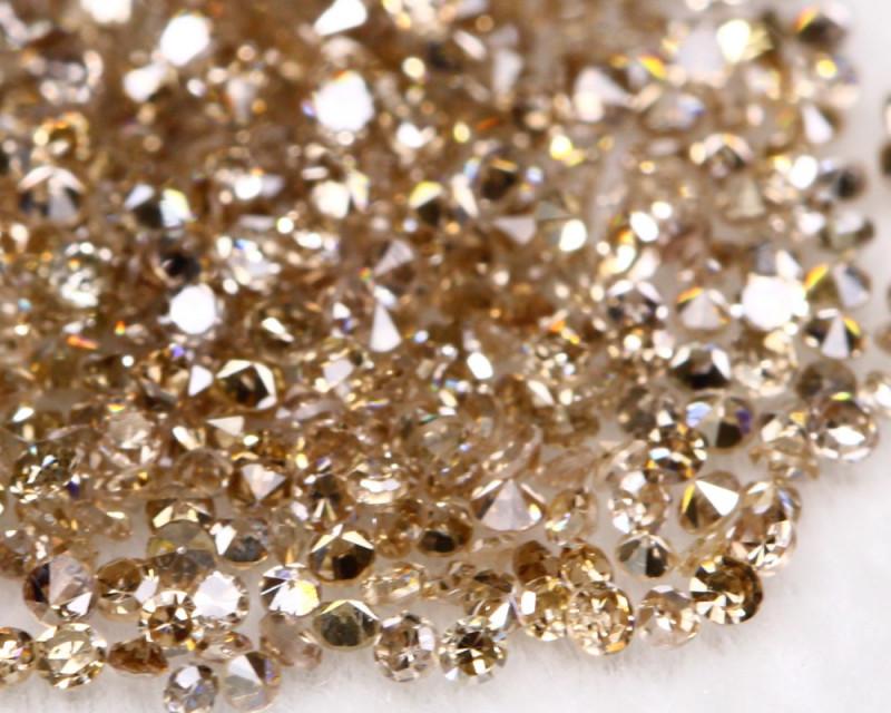 2.01Ct Fancy Champagne Natural Diamond Auction BM132