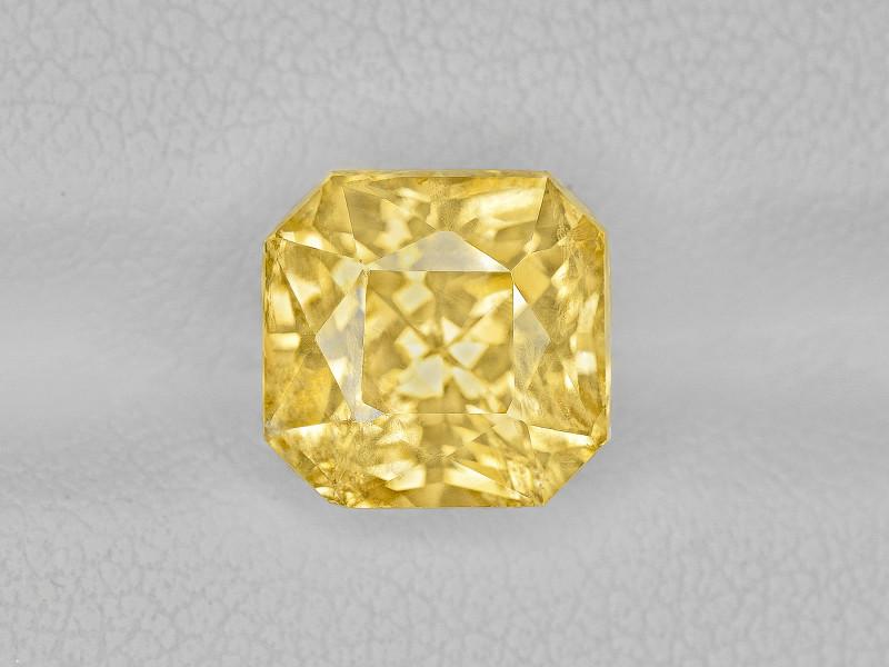 Yellow Sapphire, 5.29ct - Mined in Sri Lanka | Certified by IGI