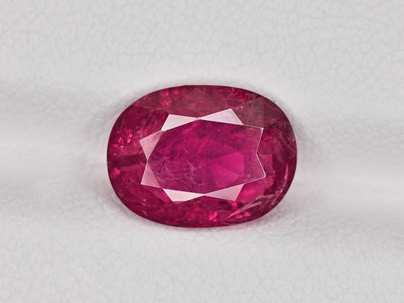 Ruby, 2.95ct - Mined in Burma | Certified by IGI