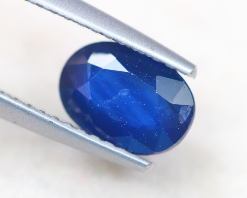 1.52Ct Natural Blue Sapphire Oval Cut Lot A828