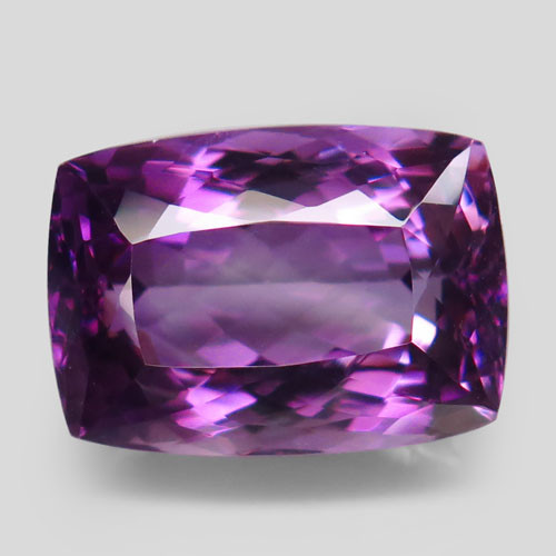 21.33 ct. Natural Top Nice Purple Amethyst Unheated Brazil - IGE Сertified