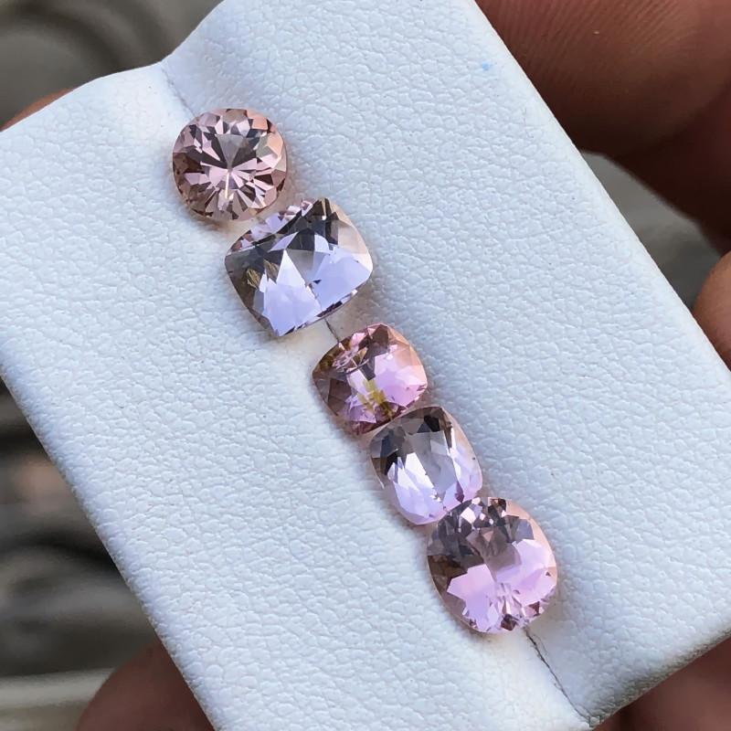 4.15 Ct Natural Pinkish Transparent Tourmaline Gemstones Parcels