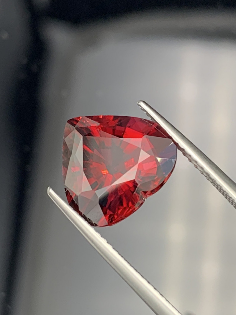 6.35 Carats Top Quality Pigeon Red Color Natural Rubellite Tourmaline